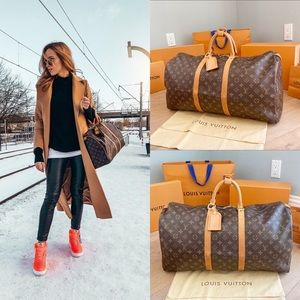 ♥️KEEPALL 45♥️Authentic Louis Vuitton Travel Bag!